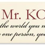 To the World you May be One Person, but to One Person You May be the World. Our plaque makes a great gift idea for a coach, teacher, parent...Personalize with a name.