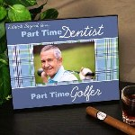 This Personalized Part Time Golfer Printed Frame is an excellent gift idea for anyone who enjoys to golf. Celebrate your hard worker with this Golf Frame on his birthday, Father's Day or any gift giving occasion.
