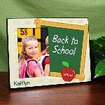 Heading back to school is an exciting event for everyone! Celebrate the beginning of the new school year by attaching a memorable photo to this Personalized Back to School Frame. This Personalized School Picture Frame also makes a unique gift so Grandma and Grandpa can enjoy seeing their grandchild head off on their first day of school.