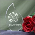 Firefighter Personalized Flame Keepsake - Personalized Fire Department Keepsake Let all your Firefighters know that their job has not gone un-noticed. Show your appreciation for the hard work and challenges they face with this unique Personalized Fire Department Flame Keepsake. This classic Firefighter Keepsake Flame makes a wonderful gift for your favorite Firefighters or Fire Department.