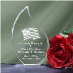 Cherish the loving memory of a family member or friend forever when you display this Engraved Memorial Teardrop Keepsake. This Personalized Memorial Keepsake is great for expressing your heartfelt thoughts of kindness and sympathy and looks lovely in any home.