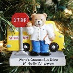 Give your favorite School Bus Driver a personalized gift for Christmas. Our Personalized School Bus Driver Ornament is a great way to say Thank you for always being there.