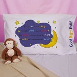 Personalized Prayer Pillowcase - Custom Printed Bedtime Prayer Pillowcase Your child will sleep comfortably and peacefully on our Personalized Prayer Pillow. Every night you can say this timeless bedtime prayer together.