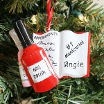 Decorate your Christmas Tree with a fun Personalized Nails Ornament to show off your passion for finely manicured nails. Our Personalized Manicure Ornament is a great personalized gift for all your girlfriends at Christmas.