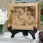 This rich, wood plaque elegantly displays your favorite digital photo with laser precision. We transform your photo into a work of art featuring your family, children, favorite vacation spot or funny digital photograph. Your Personalized Photo Plaque makes a lasting keepsake everyone can enjoy.
