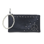 You can never be too peaceful. Live a peaceful life. Our new peace wristlet helps you promote peace while looking trendy.