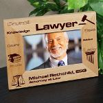 You have made it. Whether you are a new graduate with a law degree or a seasoned Attorney at Law this Personalized Lawyer Picture Frame is sure to look great in your office. A great Personalized Gift for Mothers Day, Fathers Day or as an Appreciation Gift, boss gift or holiday gift idea.