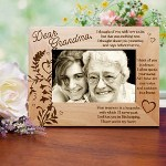 "Our Personalized Sympathy Picture Frame makes a beautiful Memorial Keepsake to honor your deceased family member or close friend. Our Personalized Your Memory is a Keepsake Memorial Picture Frame measures 8 3/4"" x 6 3/4"" and holds a 3½"" x 5"" or 4"" x 6"" photo. Easel back allows for desk display. Includes FREE Personalization! Personalize your Your Memory is a Keepsake Memorial Picture Frame with any name or title. (i.e. Grandma)"