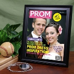 Become a celebrity with your personalized prom magazine cover! You and your date make the cover and all eyes are on you. A creative way to remember a special night.