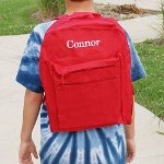 Start the school year off right by outfitting your kids with their own Embroidered Name Backpack. These sturdy and functional backpacks make the last day of school as special as the first day of school. Personalized School Backpacks are excellent for carrying school books, sports apparel and of course lunch.