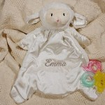 This adorable, lovable, cuddly, lamb Personalized Baby Blanket is soft plush on the outside and smooth satin on the inside. Nap time is sure to be welcomed by your little one with this warm & comfortable Personalized Baby Lamb Blanket.