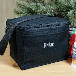 Pack up this Embroidered Lunch Cooler with healthy food and beverages and youre ready to go! This Personalized Lunch Cooler can be easily carried and is great for everyday use. Perfect to keep your food cool and fresh while your at school or work.