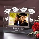 Celebrate the joy and excitement of graduation by displaying those proud memories in a Personalized Graduation Frame. Our Engraved Graduation frame is a wonderful way to recognize years of hard work and commitment. Create a great gift to show someone how proud you are of their achievements.