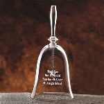 A brilliant idea for teachers, anniversaries, or any other significant milestone that will be remembered for a lifetime. Bell stands 8 inches tall. Whether ringing in the end of the school year or celebrating a teacher retirement, our teacher gift bell makes a stunning gift for any classroom.