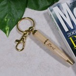 Are you always looking for a pen or just simply something to write with? Our Personalized Name Pen Keychain is a helpful tool to keep with your keys so you can always have a pen for any occasion. Our Personalized Maple Wood Pen Keychain looks great and is an affordable gift for those who have everything. The perfect personalized accessory for a graduate or someone who loves to write.