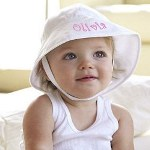 Help protect your precious angel from the sun while playing at the beach, playground or out for a walk with our adorable Embroidered Baby Name Sun Hat. A fab baby gift, perfect for a first birthday party gift or as a cool summer apparel gift.