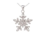 Genuine Austrian Crystals, Sterling Silver Finish, Beautiful Gift Box Floating down from heaven shimmering crystal stars. Snowflakes are unique creations, natures masterpiece they are. Just like a crystal snowflake, youre one of a kind its true. So enjoy this sparking tribute just for being you.