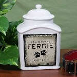 This Personalized Pet Cremation Urn is sure to give your faithful companion a beautiful resting place. Perfect for your beloved Cat or Dog, this beautifully crafted Personalized Pet Urn is a wonderful tribute to your pet's life. Create a one-of-a-kind Pet Memorial Urn that preserves the memory of your beloved pet for a special friend or family member.