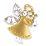 Send a small token of faith to a friend or family member for a special religious event, holiday or occasion. Our Faith Gift Angel Tac Pin makes a keepsake gift for a godparent, religious education teacher, confirmation or sponsor gift or someone special.
