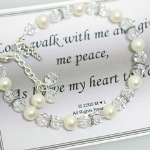 Celebrate an adult baptism with our keepsake bracelet that can be worn for the special occasion and as a reminder that special day.