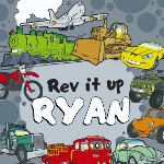 Check out the Personalized Cars Coloring Book featuring cars, trucks, trains, planes and more. Rev it up!
