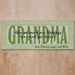 Personalized Wall Canvas Great Gift for Grandma on Mothers Day! Our Personalized Wall Canvas is the perfect gift for grandparents or anyone special in your life. A thoughtful personalized gift that is sure to look great in any part of your home.