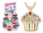 "A special treat for someone sweet! These adorable cupcake pendants come complete with a figurine keepsake box, and are available in four assorted ""flavors."" Theyre sparkling with fun! Great for special birthdays, holidays and special occasions for daughters, nieces, granddaughters and friends."