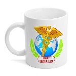 This Doctors day mug is a perfect was to show appreciation with a gift they will love to use every day. This bright white hard coated ceramic mug has a glossy finish and holds 11 ounces of your favorite drink.
