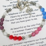 Celebrate a special friendship in an affordable way. The perfect gift to give to a special friend for a birthday, special event or holiday gift. Honor your friendship with this keepsake bracelet. Swarvoski crystals and sterling silver with an toggle clasp and sterling silver heart charm.