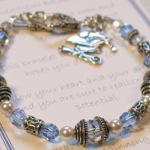 The Graduation Gift Bracelet commemorates a special day. Whether graduating from high school, college, teaching, nursing school or other, this bracelet can be customized to fit your needs. Each come with the special poem as shown below. Customize with birthstones or favorite color and choose your charm selection.