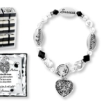 Individually Satin Lined Gift-Boxed Corresponding Verse Card Toggle Closure Sterling Silver Plated  Achieve, success, Believe Follow your dreams. As you strive to achieve, The key to successIs to always believe