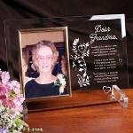 The loss of a close family member or friend is difficult. This beautifully engraved memorial picture frame is sure to sooth the heart during this time of mourning. A Personalized Sympathy Picture Frame makes a thoughtful personalized sympathy gift that will be treasured for years to come. Memorial Picture Frame reads: I thought of you with love today, but that is nothing new. I thought about you yesterday, and days before that too. I think of you in silence, I often speak your name. All I have are memories and a picture in a frame. Your memory is a keepsake, with which Ill never part. God has you in His keeping; I have you in my heart.
