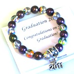 Celebrate a 2012 graduation with our keepsake and affordable gift bracelet. Gift boxed with celebration card - ready to give as a gift.