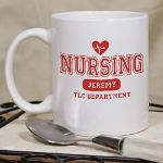 A warm mug of coffee and good conversation is the perfect way to enjoy a break. Give a Personalized Nursing Coffee Mug to your favorite Nurse or the entire ward as thoughtful Nursing Appreciation Gifts for a job well done.