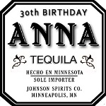 Personalize this popular tequlia to create a classic gift for any occasion! Makes a great gift for birthdays, retirements, holiday parties and anniversaries. Also makes a unique wedding party gift! Place your order below and we will contact you to get your personalization information.