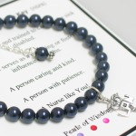 "The Pearls of Wisdom (TM) Nurse Bracelet is a special and thoughtful gift to give as a gift to a graduating nurse or special nurse you know. Each comes with a gift card defining the special characters that make up a nurse. Choose between ""RN"", ""LPN"" or Heart Charm."