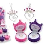 Let your little princess know just how special she is with the Princess Crown Pendant. A princess is sweet and charming too. A princess is special just like you!