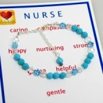 Thank a nurse for a job well done or send a gift to a graduating nurse. Personalize with a name or short message