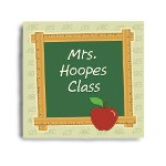Help decorate your favorite teachers classroom with this colorful Personalized Teacher Wall Canvas. A fabulous Teacher Appreciation Gift that looks great school year after school year.