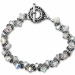 Life is full of twists and turns and its great to celebrate with family and friends. Celebrate Sixty in a fun way. Our keepsake bracelet is made with swarovski crystals and silver beads. Packaged with our poem card and gift boxed.