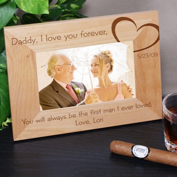 Daddy I Love You Frame :  dad frame daddy i love you frame father of the bride fathers day gift