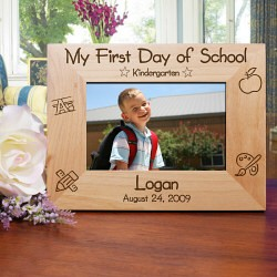 First Day of School Picture Frame from moljewelry.com