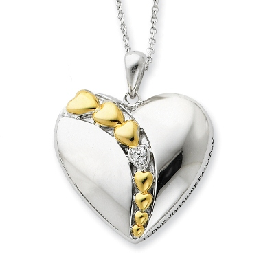 I Love You More Each Day Necklace at Sears.com