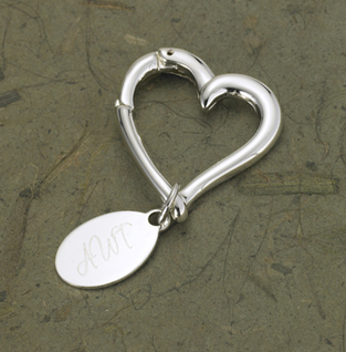 Heart Key Chain from moljewelry.com