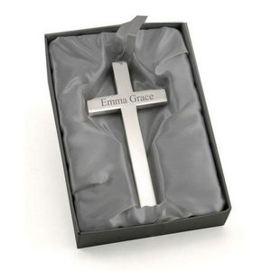 Personalized Silver Cross from moljewelry.com